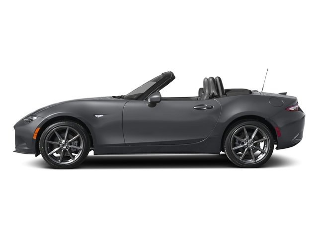 Machine Gray 2018 Mazda MX-5 Miata Pictures MX-5 Miata Club Auto photos side view