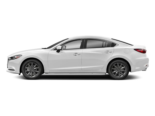 Snowflake White Pearl Mica 2018 Mazda Mazda6 Pictures Mazda6 Sedan 4D Sport I4 photos side view