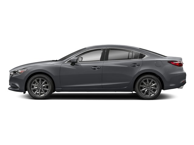 Machine Gray Metallic 2018 Mazda Mazda6 Pictures Mazda6 Sedan 4D Sport I4 photos side view