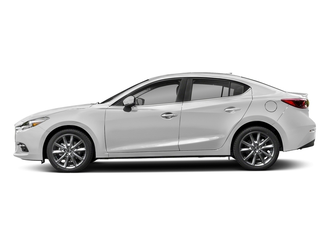 Snowflake White Pearl Mica 2018 Mazda Mazda3 4-Door Pictures Mazda3 4-Door Grand Touring Manual photos side view