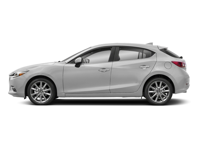 Snowflake White Pearl Mica 2018 Mazda Mazda3 5-Door Pictures Mazda3 5-Door Grand Touring Auto photos side view