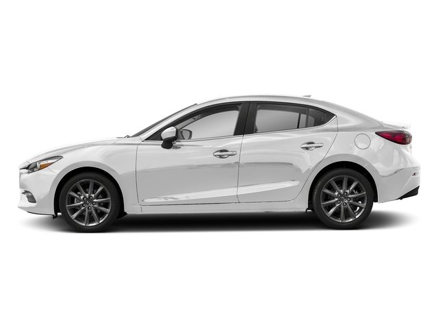 Snowflake White Pearl Mica 2018 Mazda Mazda3 4-Door Pictures Mazda3 4-Door Touring Manual photos side view