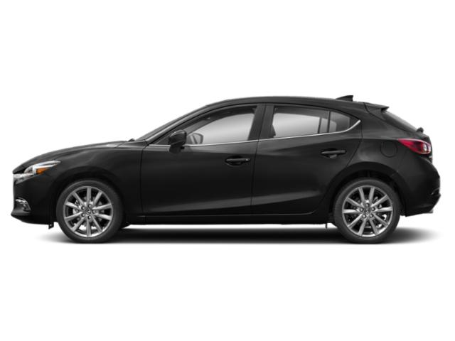 Jet Black Mica 2018 Mazda Mazda3 5-Door Pictures Mazda3 5-Door Grand Touring Manual photos side view