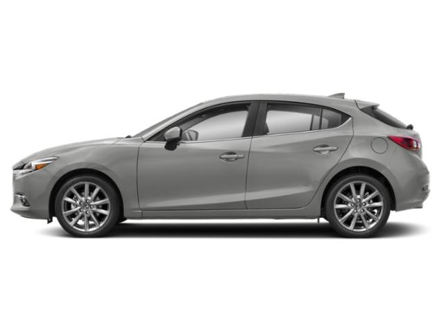 Sonic Silver Metallic 2018 Mazda Mazda3 5-Door Pictures Mazda3 5-Door Grand Touring Manual photos side view