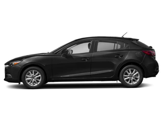 Jet Black Mica 2018 Mazda Mazda3 5-Door Pictures Mazda3 5-Door Sport Auto photos side view