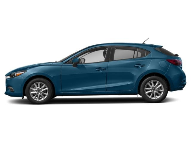 Eternal Blue Mica 2018 Mazda Mazda3 5-Door Pictures Mazda3 5-Door Sport Auto photos side view