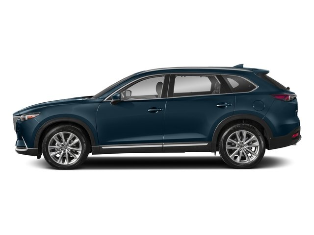 Deep Crystal Blue Mica 2018 Mazda CX-9 Pictures CX-9 Utility 4D GT 2WD I4 photos side view