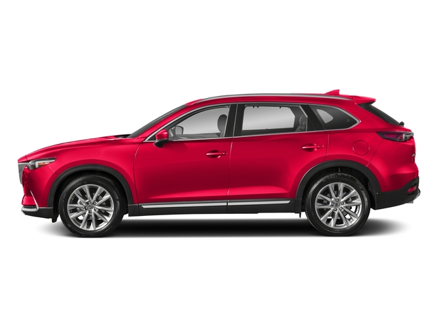 Soul Red Crystal Metallic 2018 Mazda CX-9 Pictures CX-9 Utility 4D GT 2WD I4 photos side view