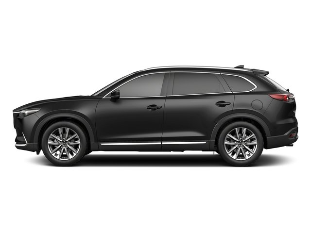 Jet Black Mica 2018 Mazda CX-9 Pictures CX-9 Signature AWD photos side view