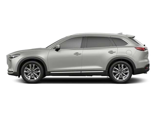 Sonic Silver Metallic 2018 Mazda CX-9 Pictures CX-9 Utility 4D Signature AWD I4 photos side view