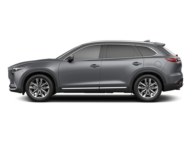 Machine Gray Metallic 2018 Mazda CX-9 Pictures CX-9 Signature AWD photos side view