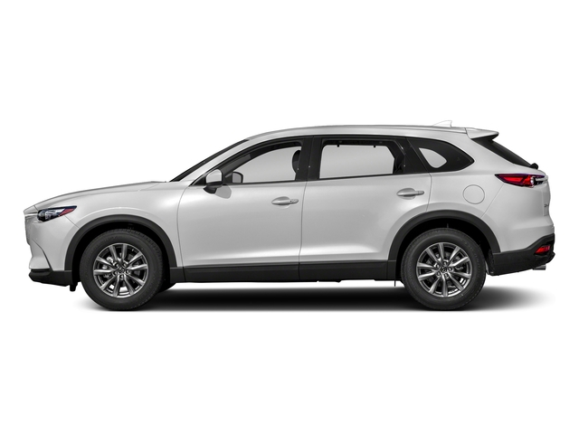 Snowflake White Pearl Mica 2018 Mazda CX-9 Pictures CX-9 Touring AWD photos side view