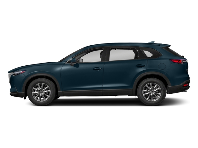 Deep Crystal Blue Mica 2018 Mazda CX-9 Pictures CX-9 Touring AWD photos side view