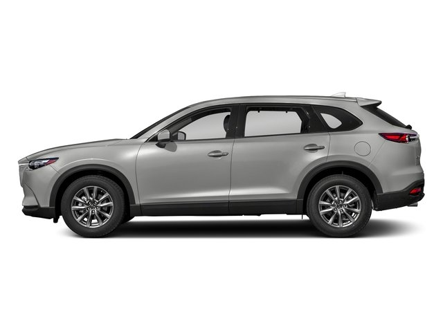 Sonic Silver Metallic 2018 Mazda CX-9 Pictures CX-9 Touring AWD photos side view