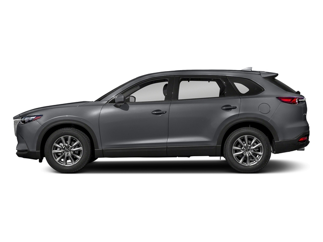 Machine Gray Metallic 2018 Mazda CX-9 Pictures CX-9 Touring AWD photos side view