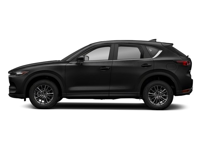 Jet Black Mica 2018 Mazda CX-5 Pictures CX-5 Sport FWD photos side view