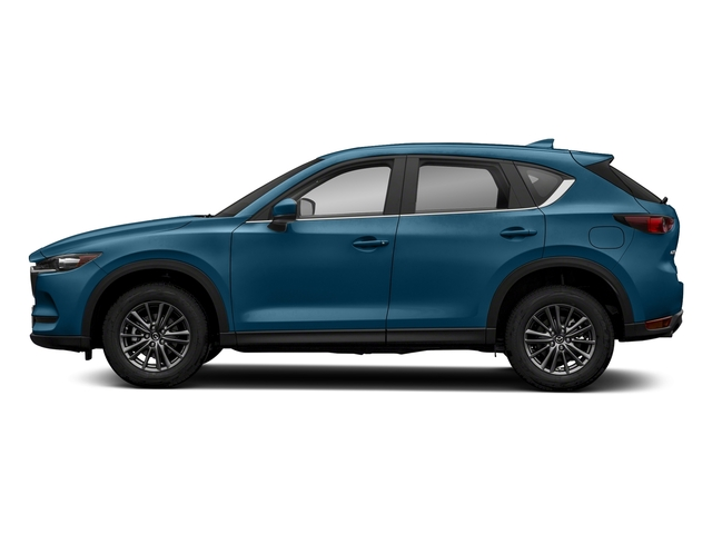 Eternal Blue Mica 2018 Mazda CX-5 Pictures CX-5 Sport AWD photos side view
