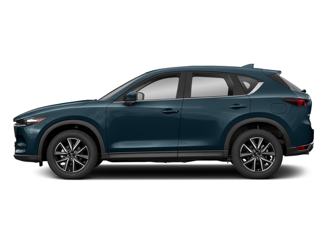 Deep Crystal Blue Mica 2018 Mazda CX-5 Pictures CX-5 Utility 4D Touring AWD I4 photos side view