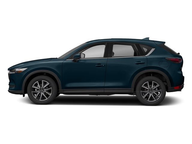 Deep Crystal Blue Mica 2018 Mazda CX-5 Pictures CX-5 Utility 4D GT AWD I4 photos side view