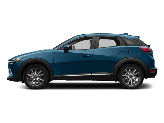 Eternal Blue Mica 2018 Mazda CX-3 Pictures CX-3 Utility 4D GT AWD I4 photos side view