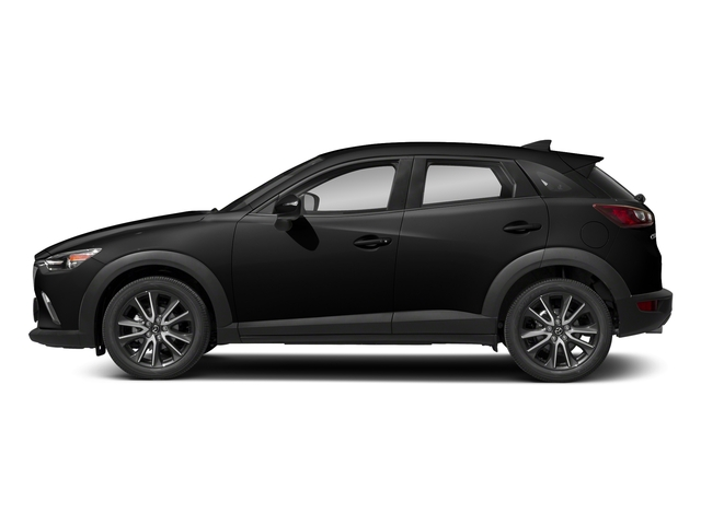 Jet Black Mica 2018 Mazda CX-3 Pictures CX-3 Touring FWD photos side view