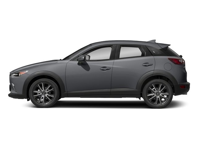 Machine Gray Metallic 2018 Mazda CX-3 Pictures CX-3 Touring FWD photos side view