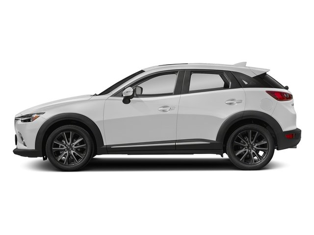 Snowflake White Pearl Mica 2018 Mazda CX-3 Pictures CX-3 Grand Touring FWD photos side view