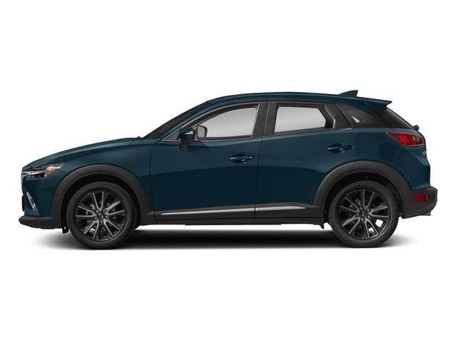 Deep Crystal Blue Mica 2018 Mazda CX-3 Pictures CX-3 Grand Touring FWD photos side view