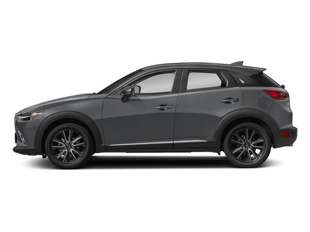 Machine Gray Metallic 2018 Mazda CX-3 Pictures CX-3 Grand Touring FWD photos side view