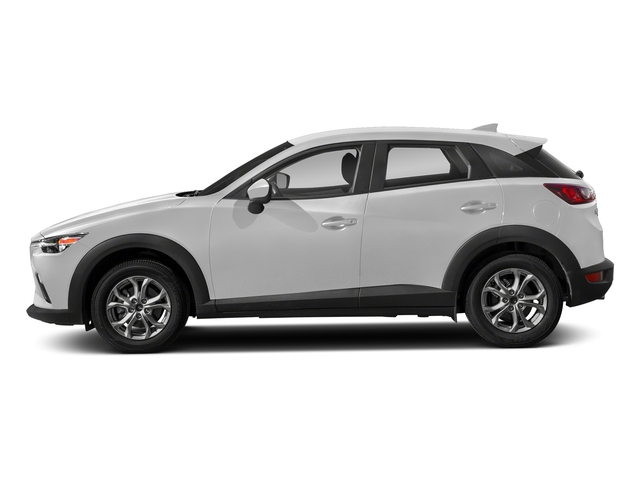 Snowflake White Pearl Mica 2018 Mazda CX-3 Pictures CX-3 Sport AWD photos side view