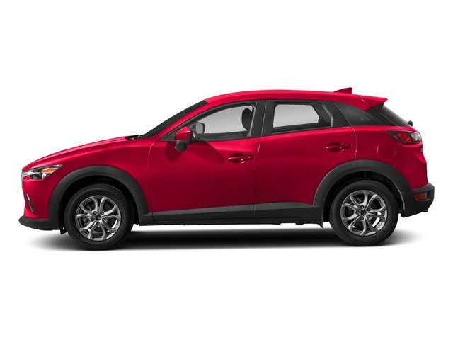 Soul Red Metallic 2018 Mazda CX-3 Pictures CX-3 Sport AWD photos side view