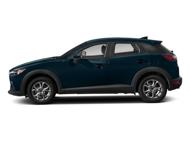 Deep Crystal Blue Mica 2018 Mazda CX-3 Pictures CX-3 Sport AWD photos side view