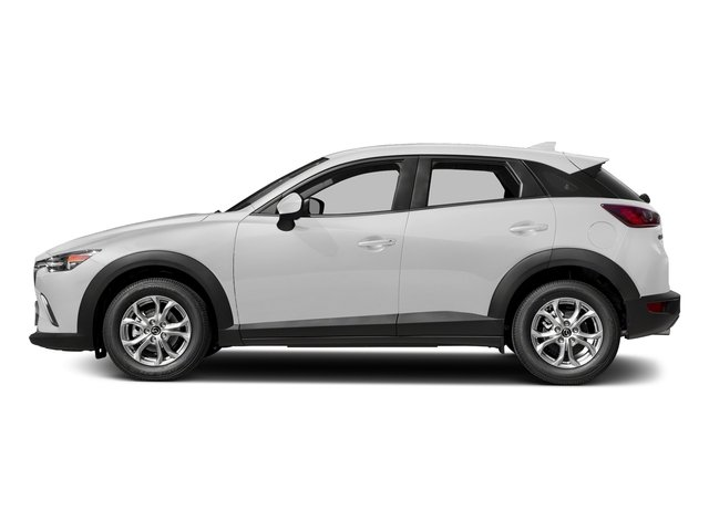 Snowflake White Pearl Mica 2018 Mazda CX-3 Pictures CX-3 Utility 4D Sport 2WD I4 photos side view