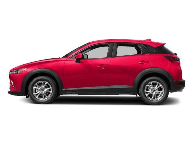 Soul Red Metallic 2018 Mazda CX-3 Pictures CX-3 Sport FWD photos side view