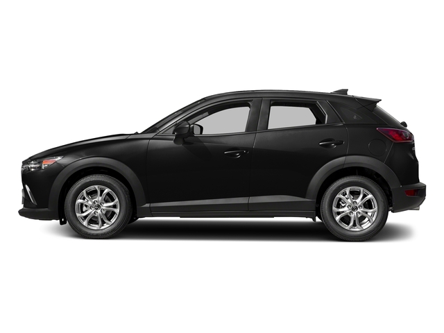 Jet Black Mica 2018 Mazda CX-3 Pictures CX-3 Sport FWD photos side view