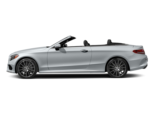 Diamond Silver Metallic 2018 Mercedes-Benz C-Class Pictures C-Class C 300 Cabriolet photos side view