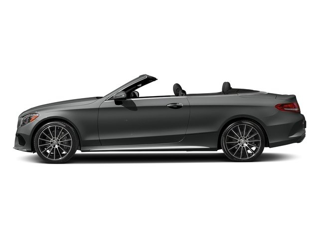 Selenite Grey Metallic 2018 Mercedes-Benz C-Class Pictures C-Class C 300 Cabriolet photos side view