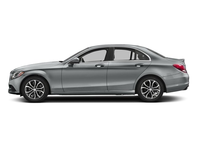 Iridium Silver Metallic 2018 Mercedes-Benz C-Class Pictures C-Class C 300 Sedan photos side view