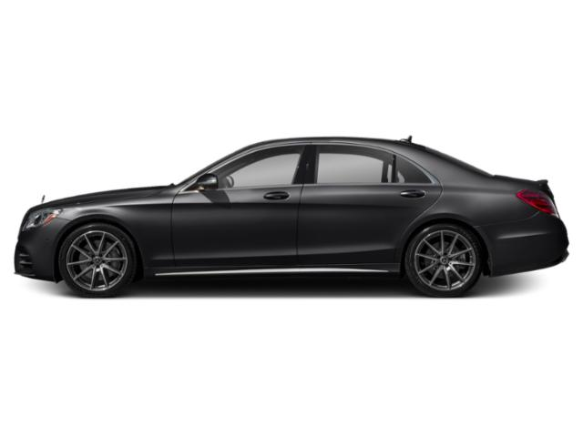 Black 2018 Mercedes-Benz S-Class Pictures S-Class S 450 4MATIC Sedan photos side view