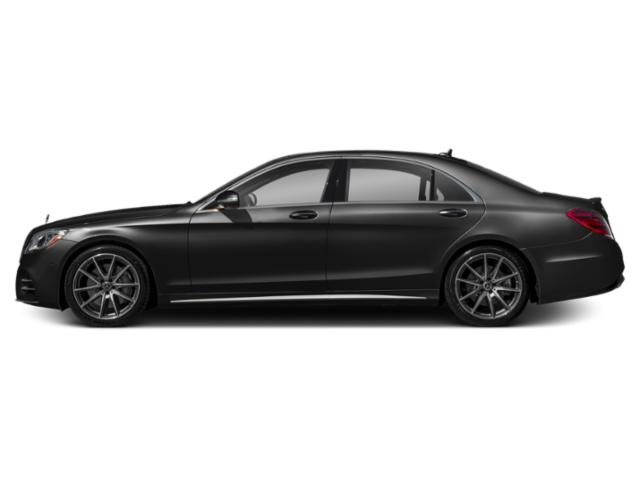 Obsidian Black Metallic 2018 Mercedes-Benz S-Class Pictures S-Class S 450 Sedan photos side view