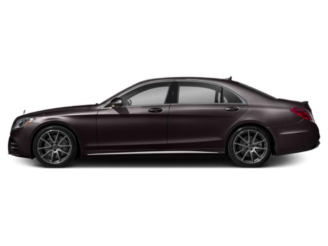 Ruby Black Metallic 2018 Mercedes-Benz S-Class Pictures S-Class S 450 Sedan photos side view