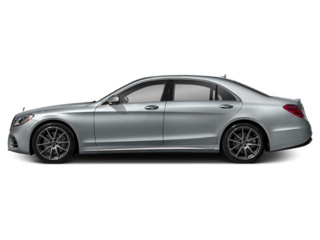 Diamond Silver Metallic 2018 Mercedes-Benz S-Class Pictures S-Class S 450 Sedan photos side view