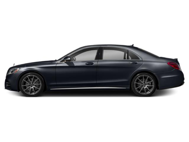 Anthracite Blue Metallic 2018 Mercedes-Benz S-Class Pictures S-Class S 450 Sedan photos side view