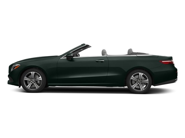 Emerald Green Metallic 2018 Mercedes-Benz E-Class Pictures E-Class E 400 4MATIC Cabriolet photos side view