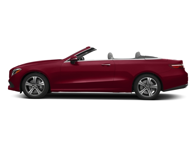 designo Cardinal Red Metallic 2018 Mercedes-Benz E-Class Pictures E-Class E 400 4MATIC Cabriolet photos side view