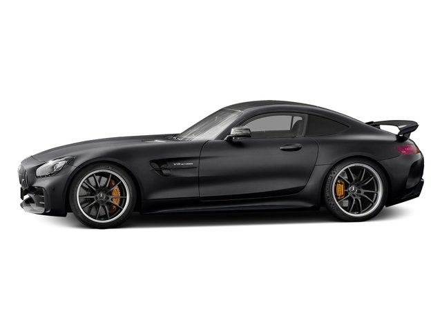 Black 2018 Mercedes-Benz AMG GT Pictures AMG GT AMG GT R Coupe photos side view