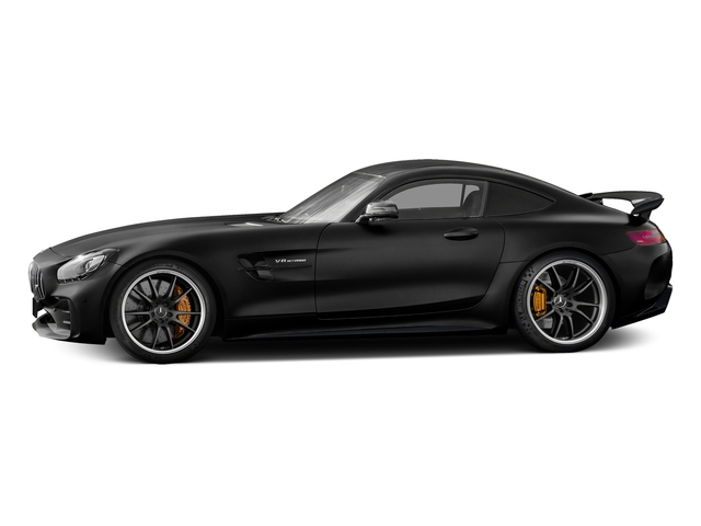Magnetite Black Metallic 2018 Mercedes-Benz AMG GT Pictures AMG GT AMG GT R Coupe photos side view