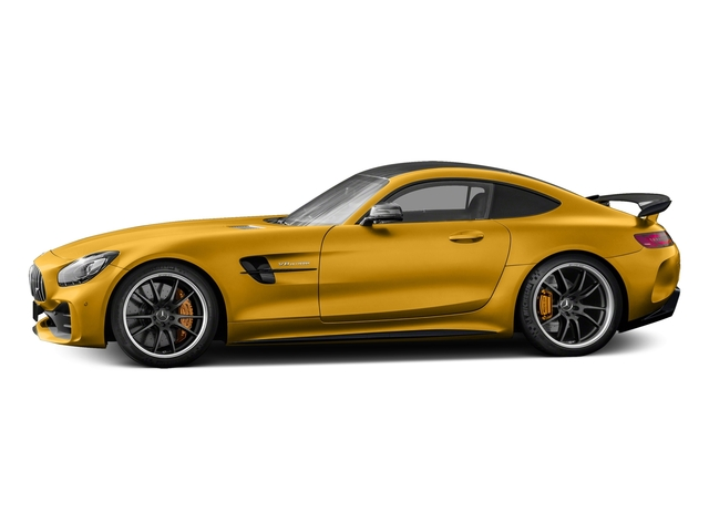 AMG Solarbeam Yellow Metallic 2018 Mercedes-Benz AMG GT Pictures AMG GT AMG GT R Coupe photos side view