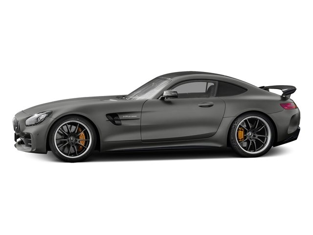 designo Selenite Grey Magno 2018 Mercedes-Benz AMG GT Pictures AMG GT AMG GT R Coupe photos side view