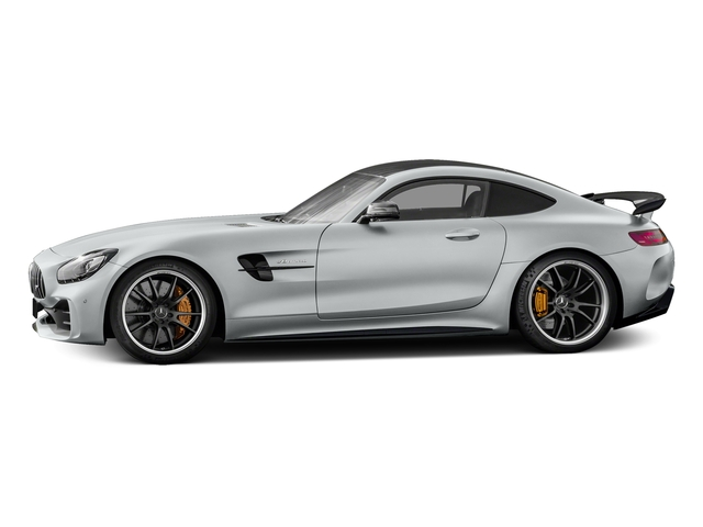Iridium Silver Metallic 2018 Mercedes-Benz AMG GT Pictures AMG GT AMG GT R Coupe photos side view
